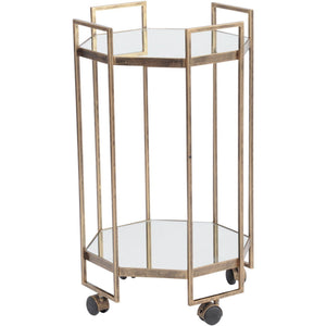 Occtaine Octagonal Bar Trolley