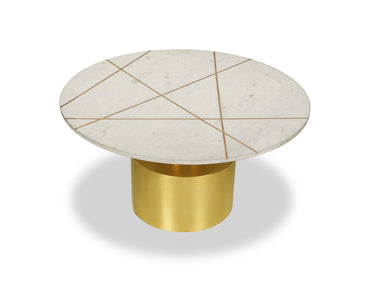 Havanna Coffee Table Polished Brass