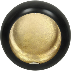 Alex Gold Disc Wall Sconce Small