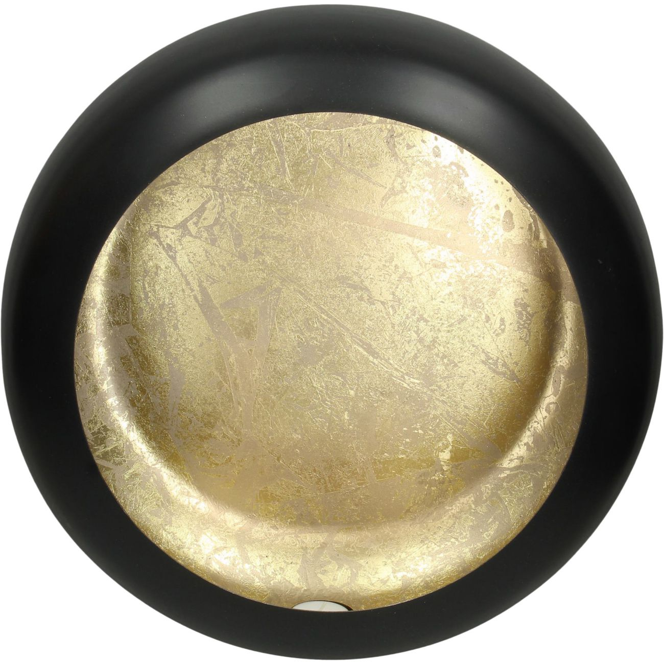 Alex Gold Disc Wall Sconce Large