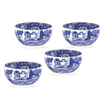 Blue Italian Dip Bowl Set of 4