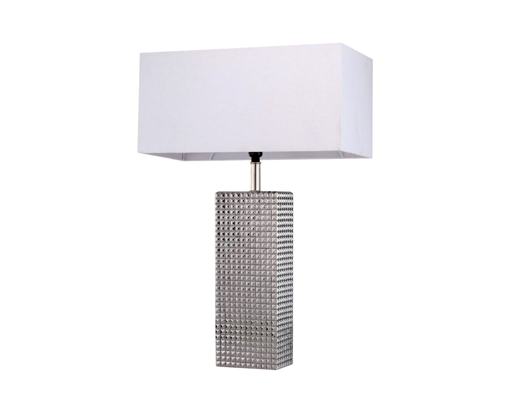 Byron Table Lamp Nickle