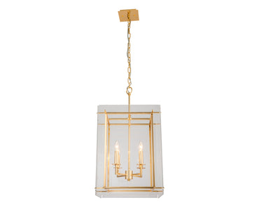 Cooper Ceiling Lamp Polished Brass