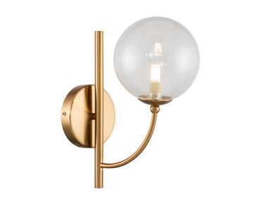 Ivy Wall Lamp Antique Brass