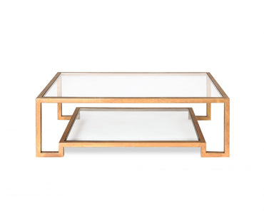 Ming Coffee Table Antique Gold