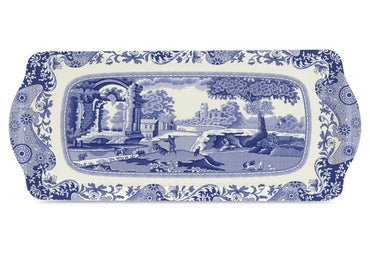 Blue Italian Sandwich Tray Set of 12