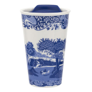 Blue Italian Travel Mug