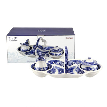 Blue Italian 200th Anniversary Entertaining Set