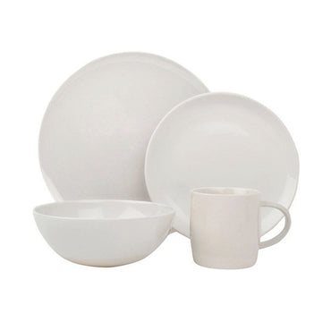 The Shell Bisque Collection 16Pc Dinnerware Set