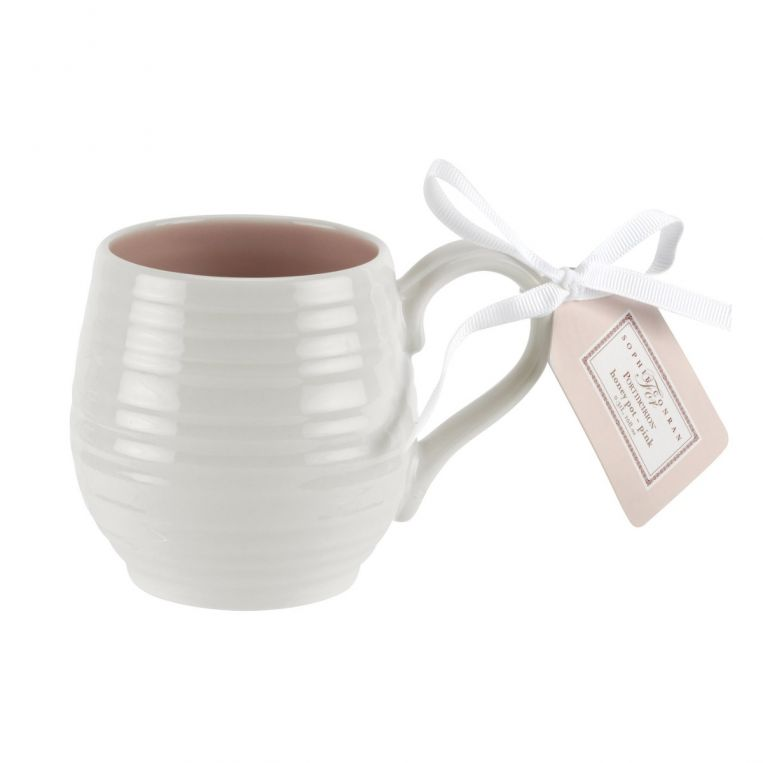 Sophie Conran Honey Pot Pink Barrel Mug Set of 4
