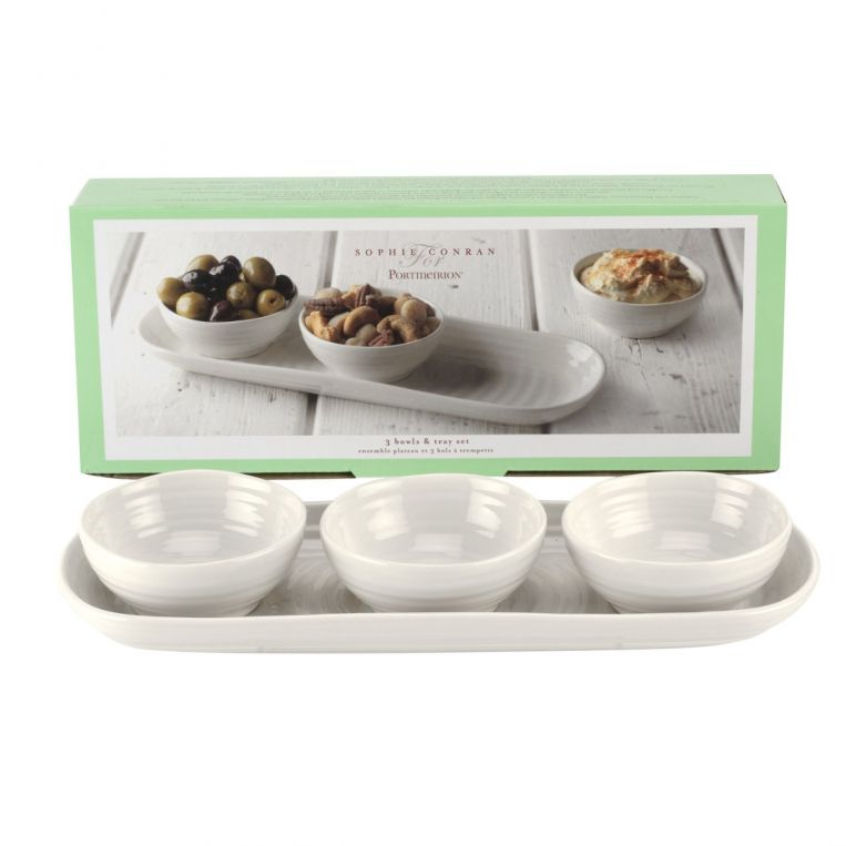 Sophie Conran 3 Bowl & Tray Set
