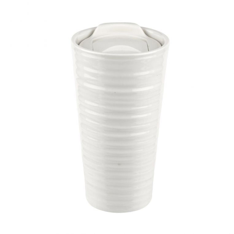 Sophie Conran White Travel Mug 12fl.oz