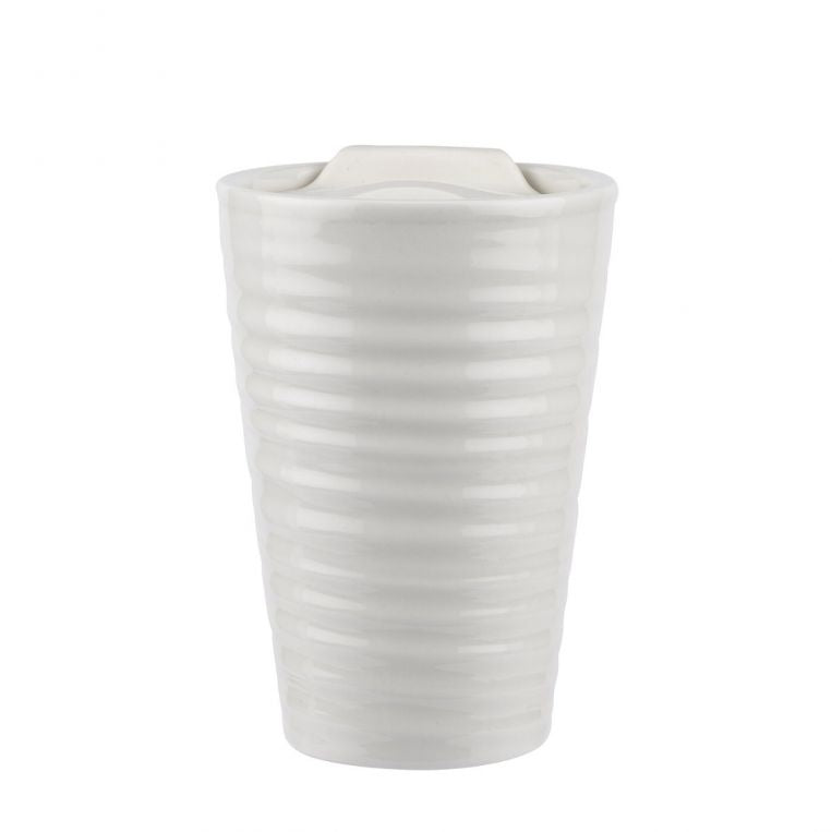 Sophie Conran White Travel Mug 8fl.oz