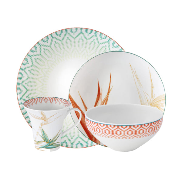 The Fiji Collection 16Pc Dinnerware Set