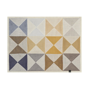"Origami Polychrome Placemat 19""x14"" set of 4"