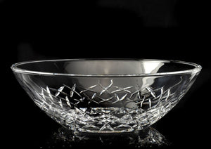 Royal Worcester Lead Crystal Ledbury Bowl