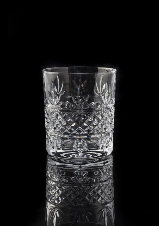 Royal Worcester Lead Crystal Malvern Tumblers Set of 4