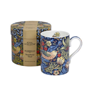 Royal Worcester Strawberry Thief Indigo Mug