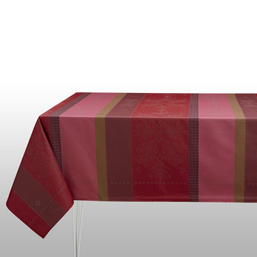 Vent d'Ouest Strawberry Coated Tablecloth