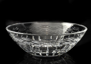 Royal Worcester Lead Crystal Pershore Bowl