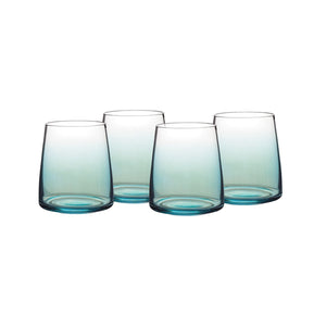 Atrium Stemless Wine Glass Set of 4