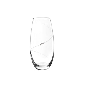 Auris Clear Barrel Shape Vase