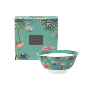 Sara Miller Tahiti Candy Bowl Flamingo