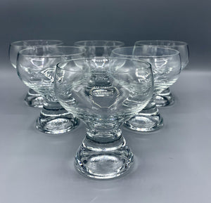 Retro Scandinavian Cocktail Glassware C1970s
