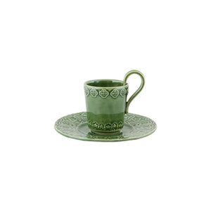 Rua Nova Coffee Cup and Saucer Set of 4