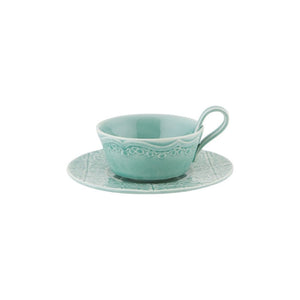 Rua Nova Tea Cup and Saucer Set of 4