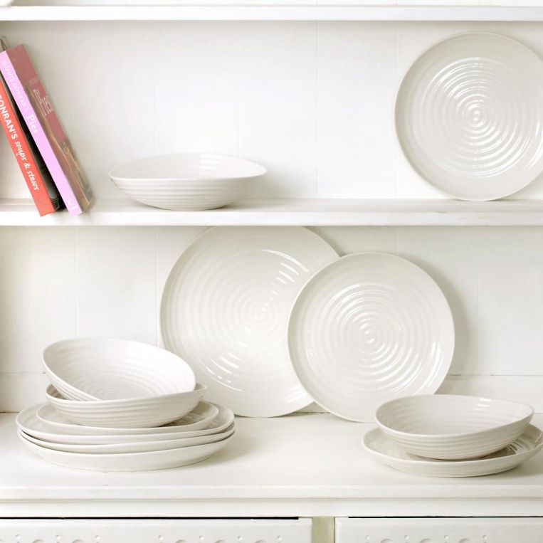 Sophie Conran White Coupe Plate Set of 4