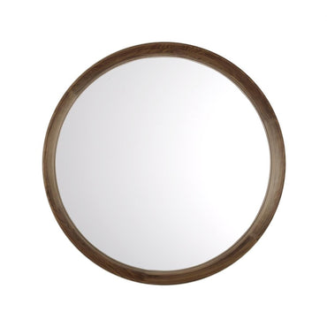 Scandia Natural Black Walnut Wall Mirror