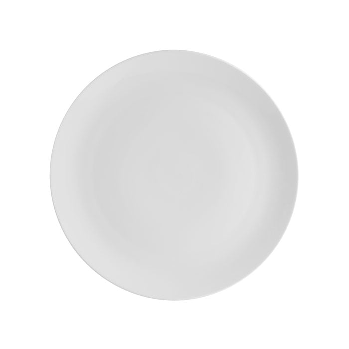 Broadway White Dessert Plate Set of 4