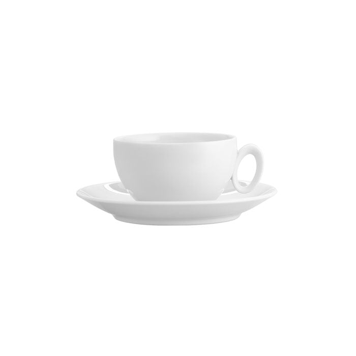 Broadway White Tea Cup And Saucer Set of 4