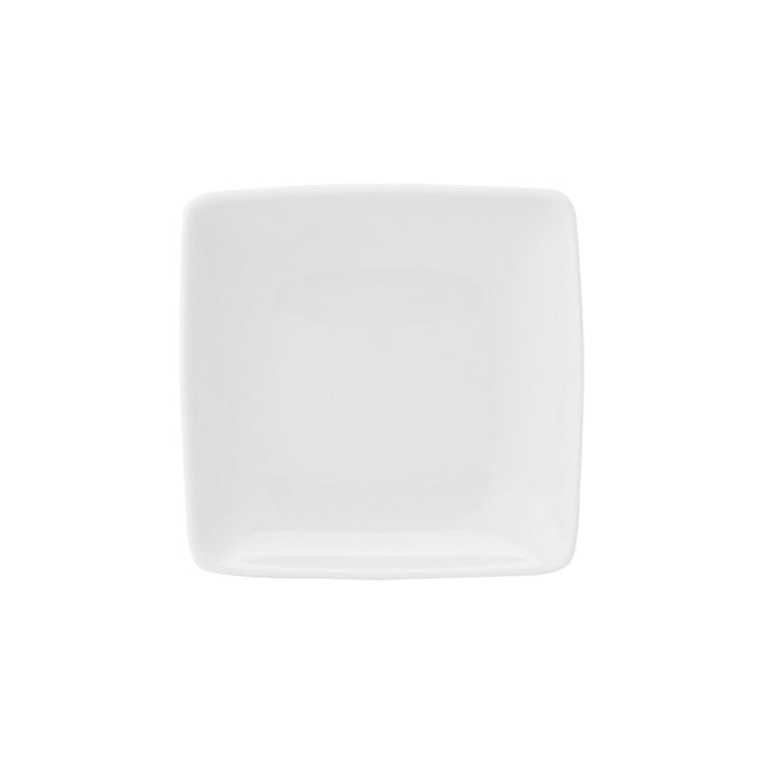 Carré White Butter Dish Set of 4