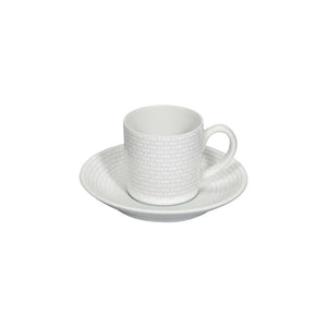 Cesta Coffee Cup & Saucer Set of 4