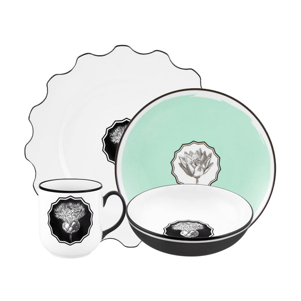 The Herbariae Collection 16Pc Dinnerware Set