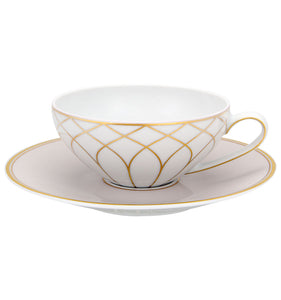 Terrace Tea Cup & Saucer Set of 4