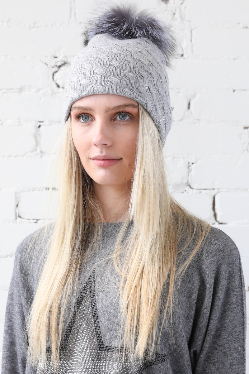 PARPAR </br>Sequins Knit Hat