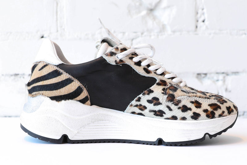 PIRANHA </br>Animal Print Sneakers