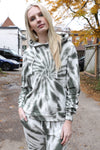 AVERY RAYNE </br>French Terry Tie Dye Hoodie & Jogger Set