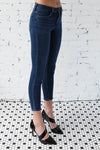 JUST BLACK </br>Denim Ankle Skinny