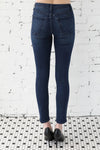 JUST BLACK </br>Stretch Skinny Denim