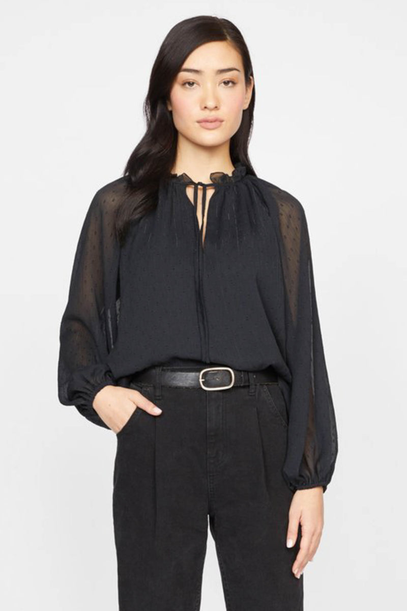 SANCTUARY </br>Live It Up Volume Blouse