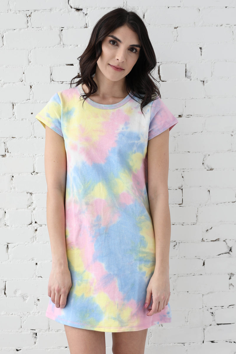 AVERY RAYNE </br>Tie Dye Cotton Dress
