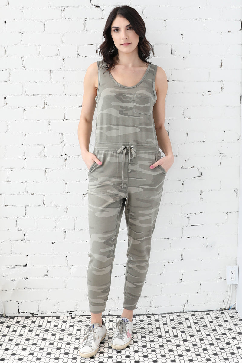 THREAD & SUPPLY </br>Perry Camo Jumpsuit