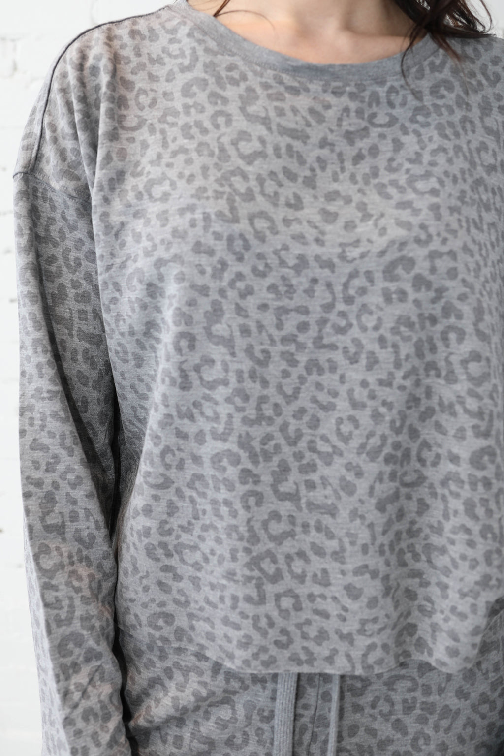 THREAD & SUPPLY </br>Leopard Pullover & Jogger Set