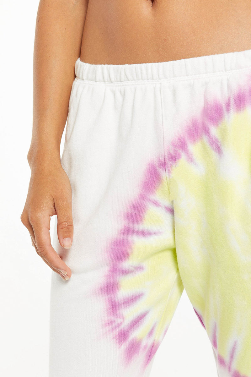 Z SUPPLY </br>Sunburst Tie Dye Jogger