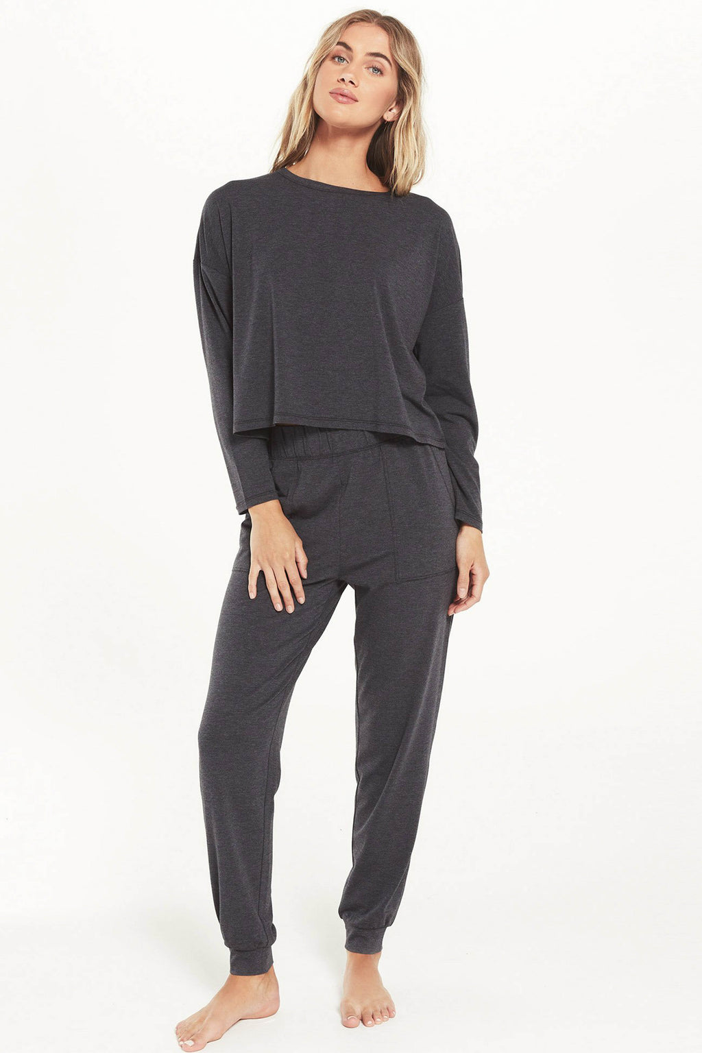Z SUPPLY </br>Feel Good Pullover & Jogger Lounge Set