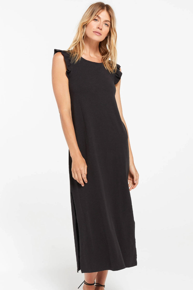Z SUPPLY </br>Blakely Slub Ruffle Dress